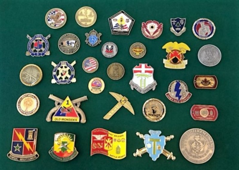 Coins and Flag Cases